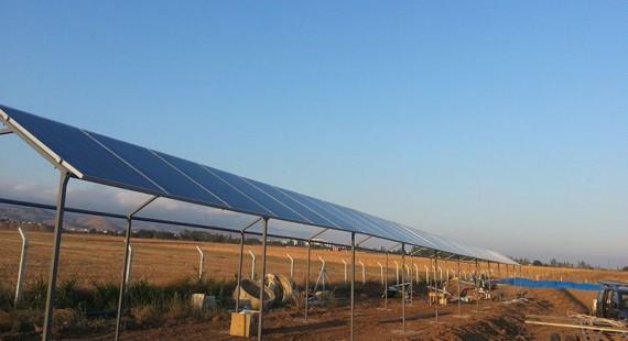 Güneş Enerjili Sulama Sistemi – Merzifon